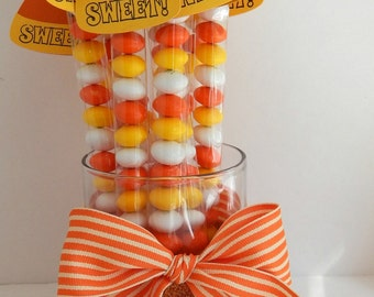 Halloween Candy Corn Custom Made Candy Stick Party Favors