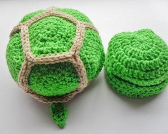 Teeny Turtle Newborn Photo Prop Set