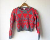 Vintage / 80's Crop Top Sweater
