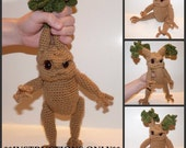 Baby Mandrake Seedling CROCHET PATTERN Doll NOT Included