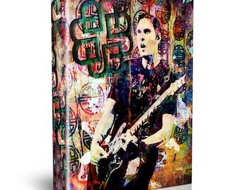 Breaking Benjamin Art, Hard Rock Canvas Art Print