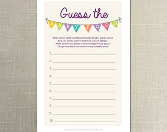 Search results for guess the baby food template for Guess the baby weight template