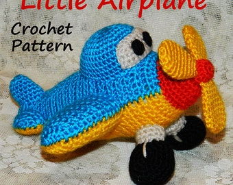 Crocheting On A Plane : Popular items for crochet airplane on Etsy