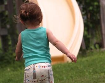 Organic Baby Leggings - Woodland Party by Birch Organic Fabrics