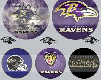 Baltimore Ravens(080) Digital Collage Sheet 4x6 bottle cap images .. Bottlecap glass tiles ..