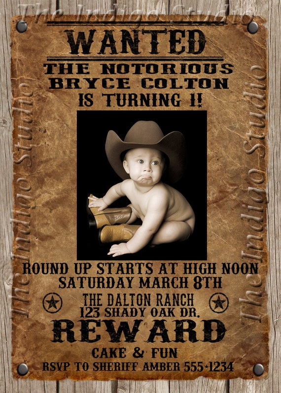 Western Theme Birthday Invitations with good invitation ideas