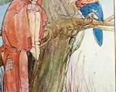 Vintage Nursery Decor - 1920's Illustration - Original Print - Mabel Lucie Attwell