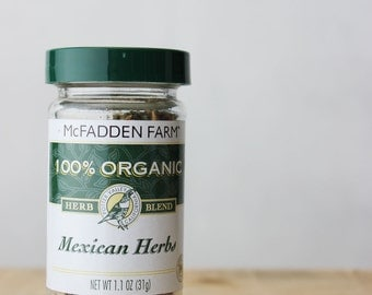 Organic Mexican Herbs Blend