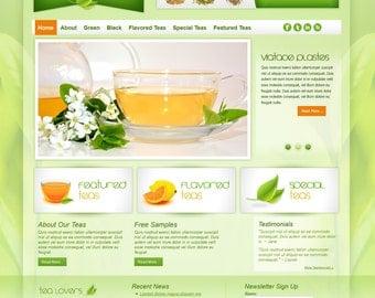 Tea Zen HTML/CSS Web Template