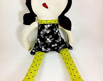 Handmade Doll, Plush Doll, Ragdoll