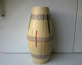 Scheurich, Vase, Nr 248-38, West German Pottery, 1963, designed by Franz Karl