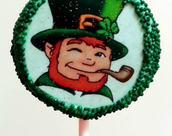 St. Patrick's Day Oreo pops