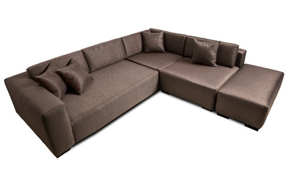 Modern sofa lounge sectional contemporary couch high quality for Quality modern sofas