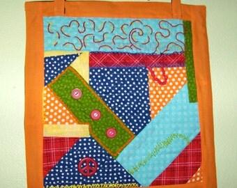 Art Quilt, handmade, wall hanging
