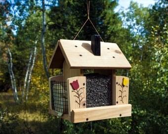 Bird Feeder and Double Suet Feeder