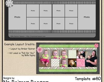 12x12 digital scrapbooking template 67 12x12 digital scrapbook template 2 page scrapbook layout 80 pronofoot35fo Gallery