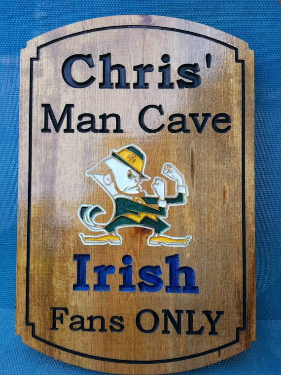 Large Man Cave Signs : Man cave ncaa college team sign custom personalized