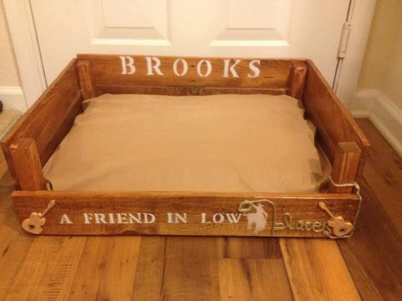 Items Similar To Custom Wood Pallet Duluxe Dog Bed
