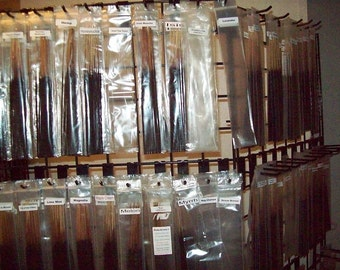 200 Incense sticks variety package choose 10 different scents Hand dipped  scented