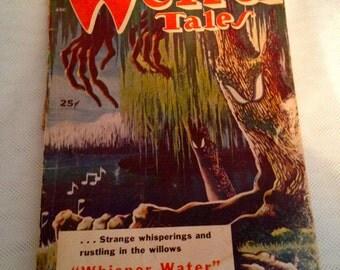 Weird Tales Magazine Pulp Sci FI Horror May 1953