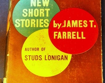 Short Stories by James T. Farrell (author of Studs Lonigan). 1000 Dollars a Week+16 Other Short Stories. Literature Anthology. Book Decor.