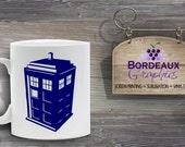 Personalized Oy Vey! Mug Tardis Telephone Box Mug