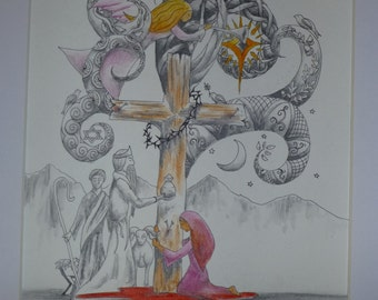 Tree of Life is the Cross