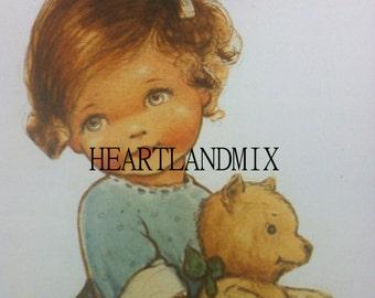 "Vintage Child Illustration ""Piper"""