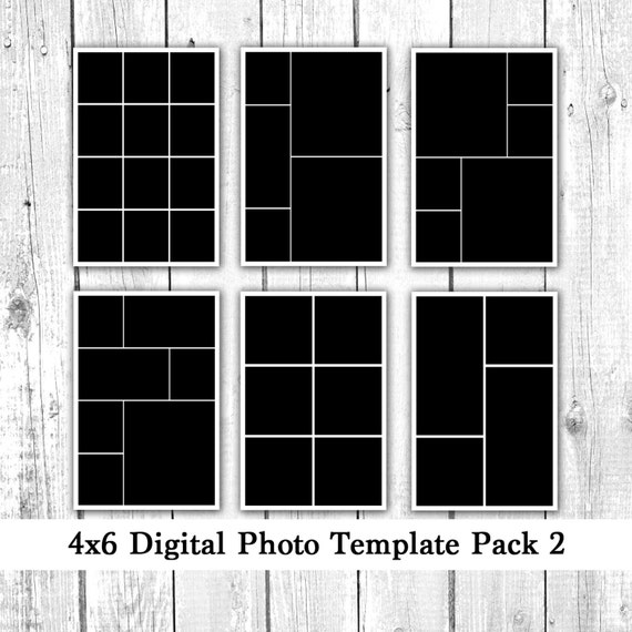 4x6 mini photoshop collage templates download joy studio design gallery best design. Black Bedroom Furniture Sets. Home Design Ideas