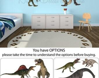 Dinosaur Wall Decals, Dinosaur Stickers, Dinosaur Decals (Real Dinos Set 1 shown) FRD1