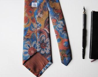 Vintage Tie, Vintage necktie, 1980 - 90's tie, necktie, anchorman tie, Menswear necktie vintage men - vintage style - classic necktie