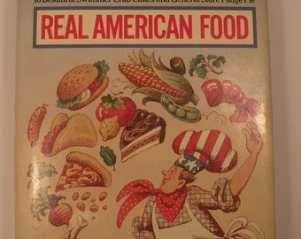 Jane and Michael Stern's Coast to Coast Cookbook, Real American Food Hardcover, 1986 with Dustjacket