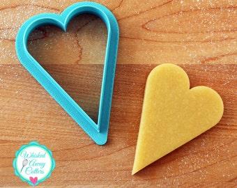 Tall Heart -Cookie Cutter