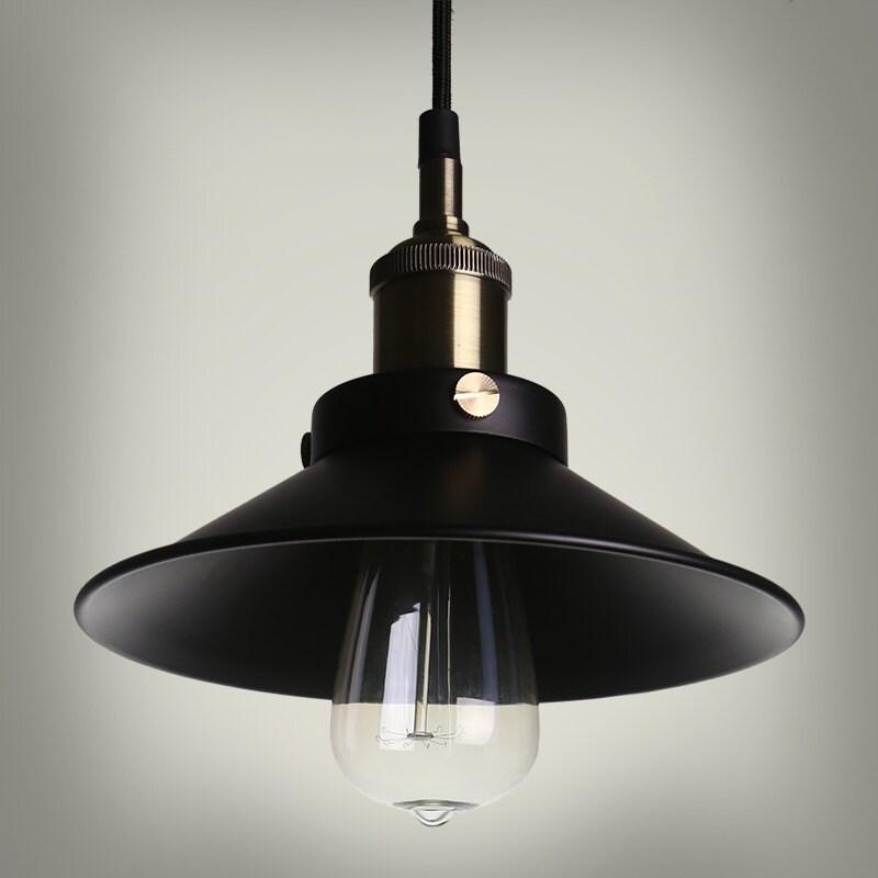 style industriel industriel acier plafonnier style vintage. Black Bedroom Furniture Sets. Home Design Ideas