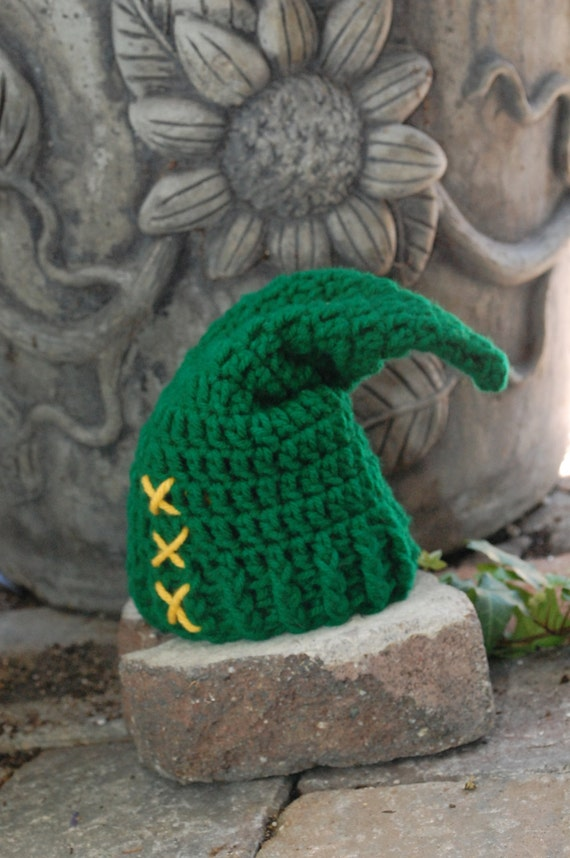 Baby Zelda Knitting Pattern : Legend of Zelda Link Hat Newborn