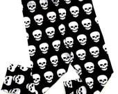 Bonefeid Skulls Leggings, Halloween Leggings, Skull Leggings, Baby Leggings, Toddler Leggings, Leggings