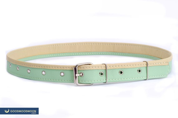 Vegan Mother's Day gifts: Mint Vegan Leather Belt