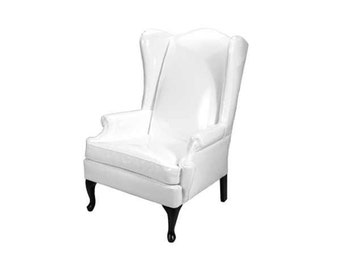 Custom Wingback Chair - Made to Order
