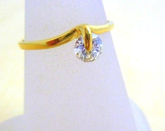 Thin Ring gold filled ring ,swarovski jewelry, handmade ring gold rings for women minimalist jewelry