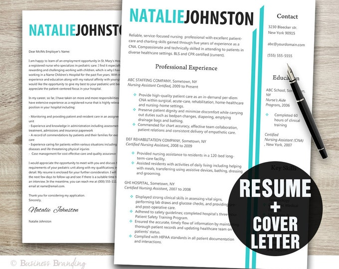 Young professional resume