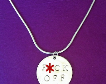 F-CK OFF Necklace