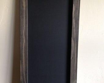 "Rustic Chalkboard 12""x24"", Reclaimed Wood, Rustic Wedding Chalkboard, Rustic Menu Board, Chalkboard, Menu Chalkboard, Restaurant Chalkboard"