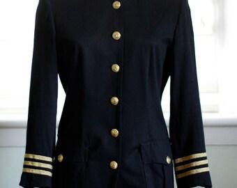 Mock Naval Women's Blazer