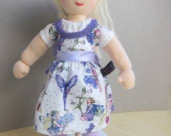 """Violetta doll  with a pony tail, and dancing shoes, 12,5"""", OOAK, collectors doll, collectible art doll"""