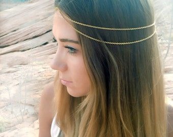 Coachella boho Head Chain