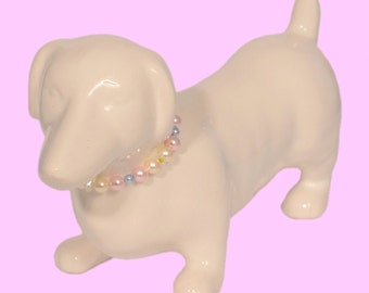 Little Pup Swarovski Crystal Necklace for Dogs