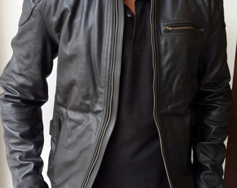 Mens Leather Jackets Uk | Outdoor Jacket