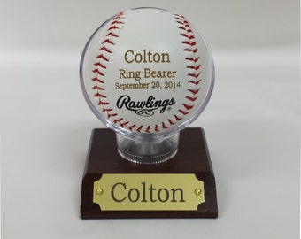 Engraved Baseball, MLB Baseballs, Perfect Wedding Gift, Ring Bearer Gift, Groomsmen Gift, Wedding Favor, Groomsmen Favor, Favor.