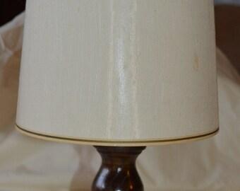 Vintage Wood Table Lamp