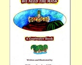 Art Book-We Need the Mask - An illustrated Caribbean Carnival dream story